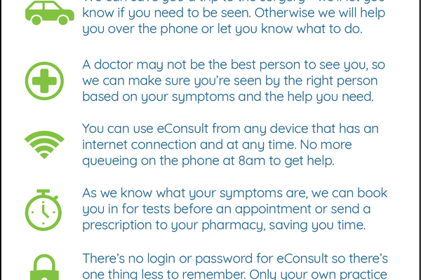 eConsult Launches from 12th October 2020